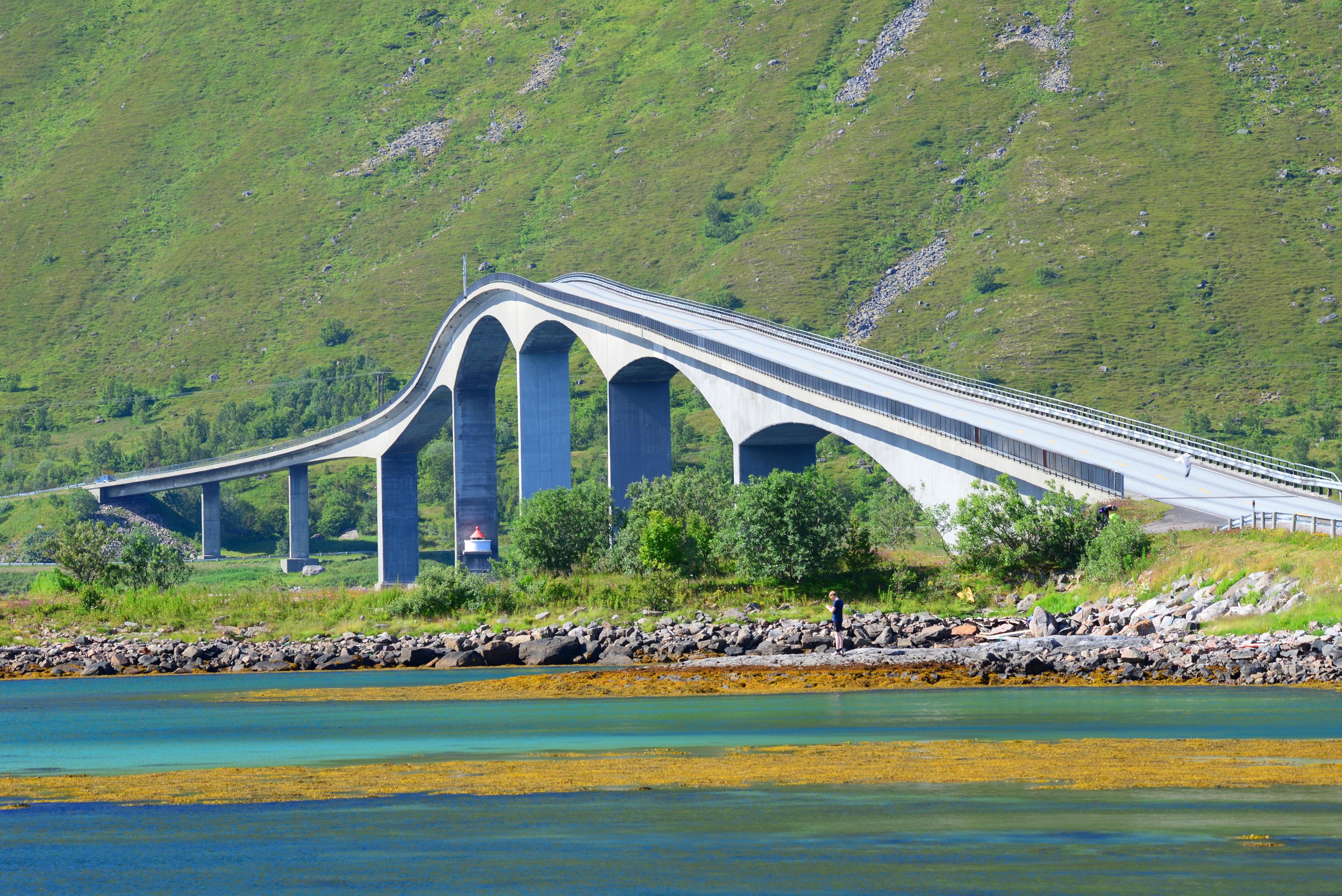 Bro över Gimsösundet